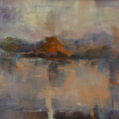 Il fiume Adda - olio su tela - 70x100 Disponibile