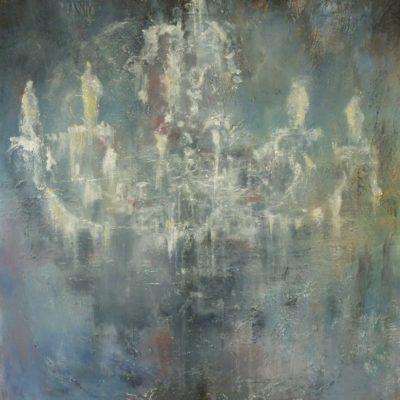 Luce e ombra - olio e acrilico su tela - 70x100 Coll. Privata