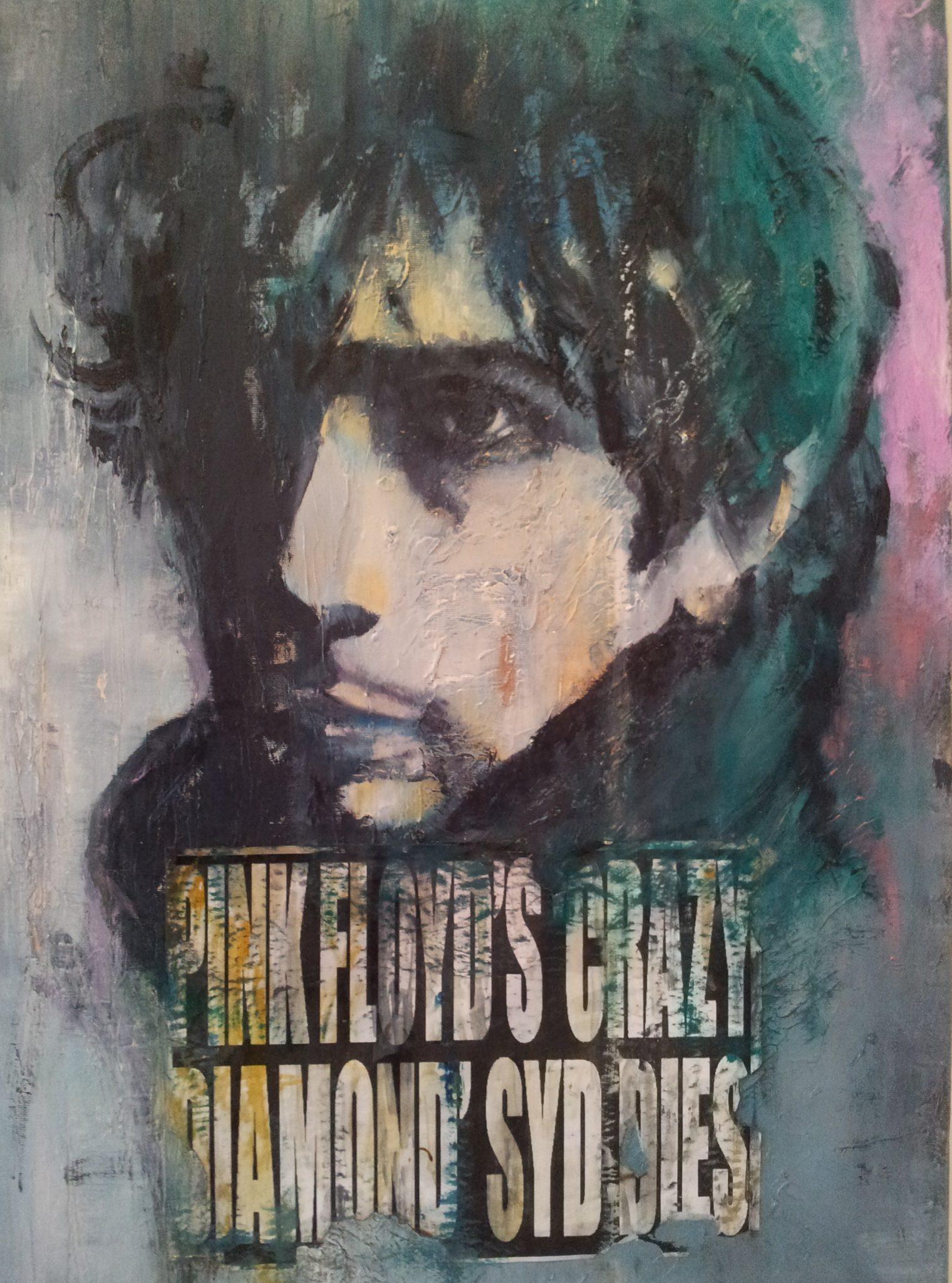 Syd Barrett, Ritratto pittorico contemporaneo Laura Beatrice Gerlini