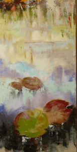 Ninfee, dipinto di Laura Beatrice Gerlini