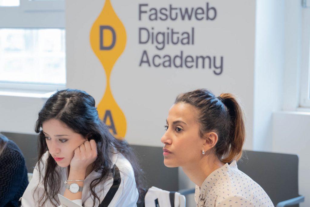 fotografia evento Fastweb Digital Academy