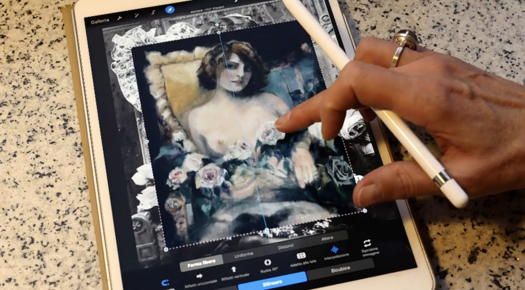 Digital art con Procreate su iPad